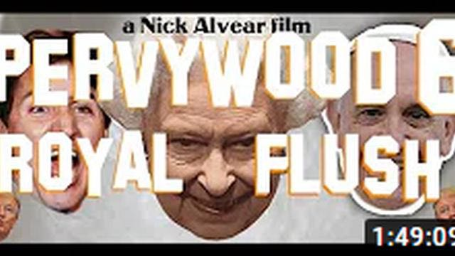 Pervywood ~ Part 6 ~ Royal Flush.  Connecting The Dots: Lady Di, JFK Jr, Justin Trudeau And The Vatican.  Must See Video!