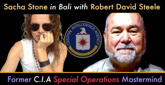 Sacha Stone And Robert David Steele Exposed As Controlled Opposition!  Must See Video!