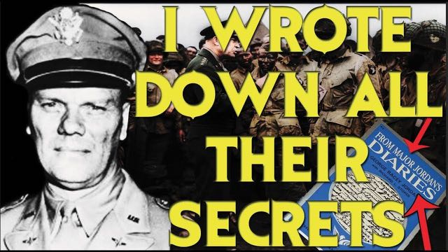 Major Jordan Wrote Down All The Explosive Deep State Secrets In His Diaries! ~ He Was A Witness To The Communist Theft And Acts Of Treason Of America Transferring Their Arms And Technology To The USSR During WWII.  Must See Video To Believe It!