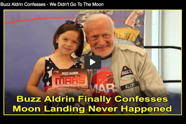 Buzz Aldrin Finally Confesses The Apollo Moon Landing Was A Hoax.  More Proof That The Moon Landings Were A Big Freemasonic Hoax!!   Must See Videos!!