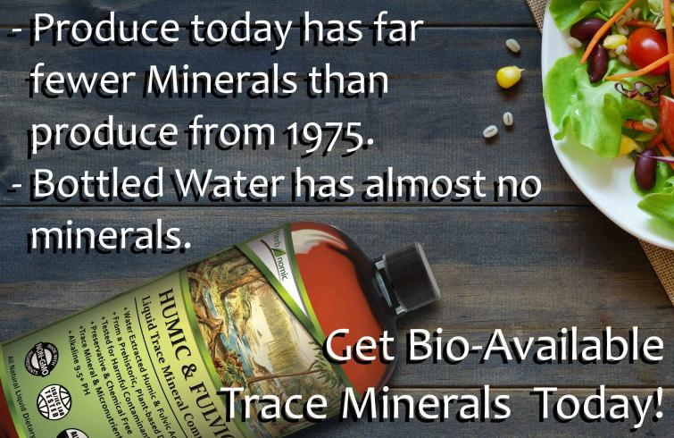 Bio Available Trace Minerals enhance your health! Try our Huic Fulvic Complex Today!