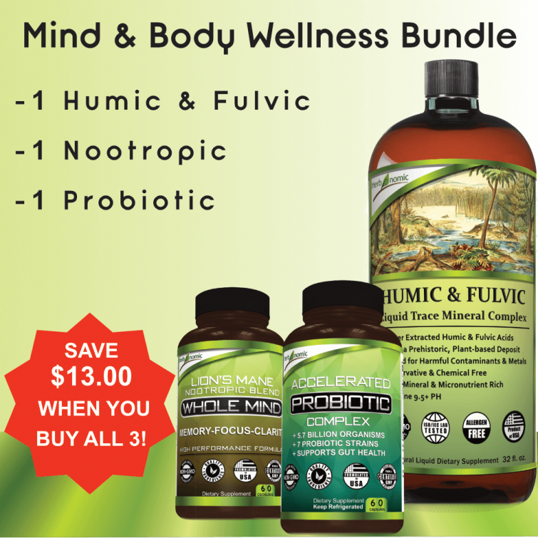 Instant savings on Body & Mind Wellness package-upgrade your body immunity & brain power today!